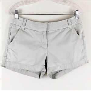 J. Crew Khaki Chino Shorts sz 4
